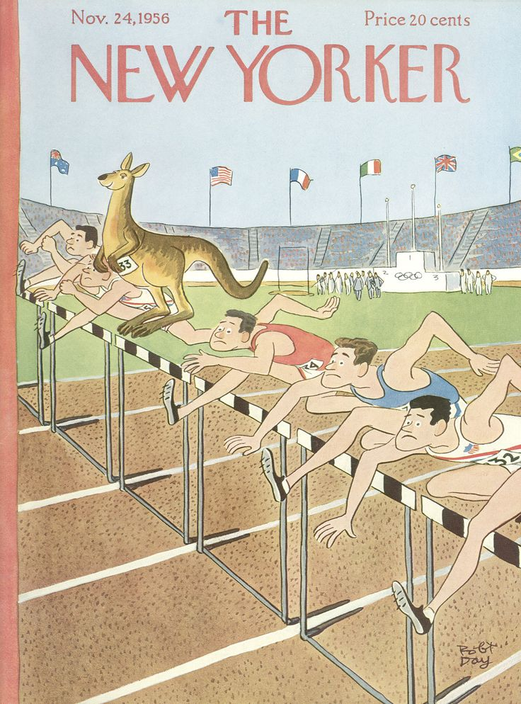The New Yorker - Saturday, November 24, 1956 - Issue # 1658 - Vol. 32 - N° 40 - Cover by : Robert J. Day
