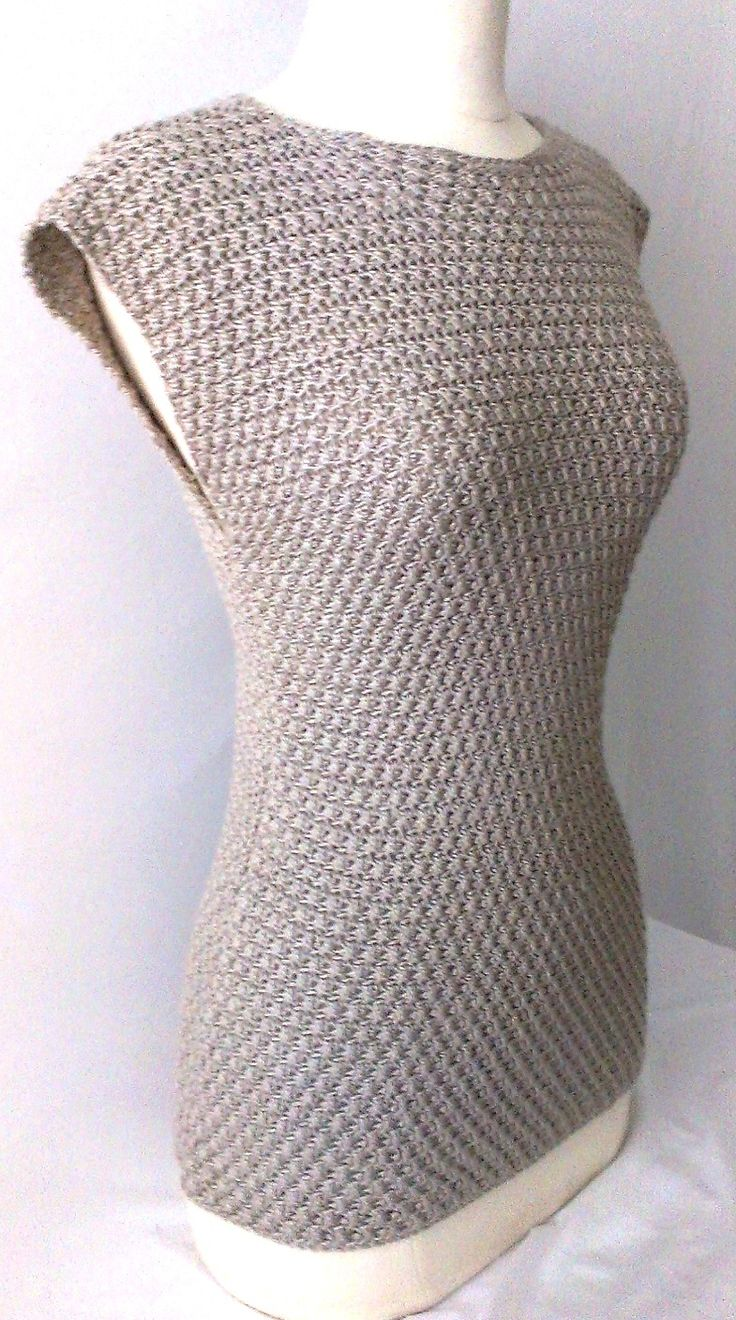 Asymmetrical Stitch Crochet Top By Gu'Chet - Purchased Crochet Pattern - (ravelry) - maybe I could figure out how t make this