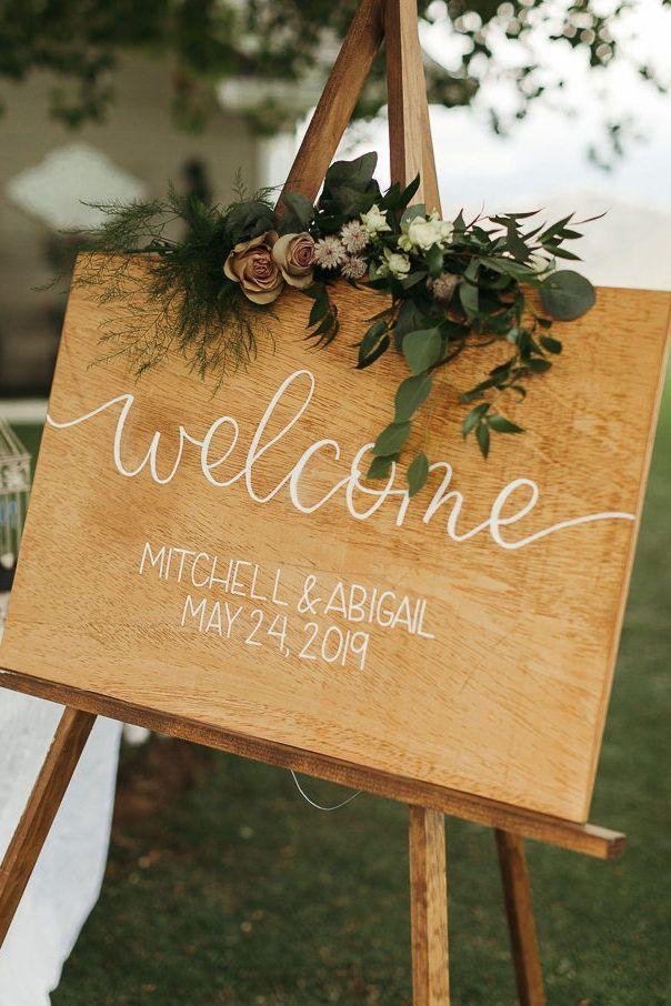 Vintage Inspired Wedding At Rose Garden Estate Junebug Weddings In 2020 Diy Wedding Welcome Sign Vintage Inspired Wedding Rustic Wedding Inspiration