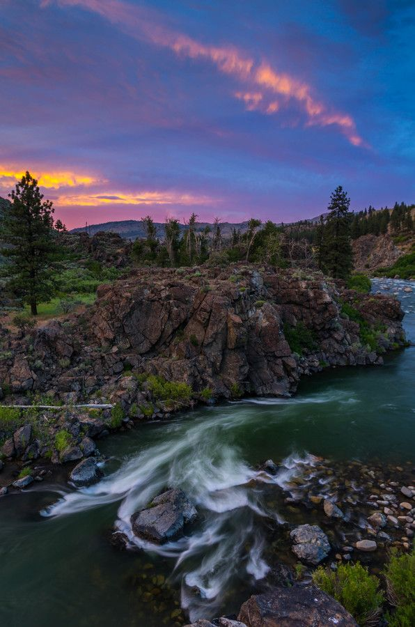 Truckee River Between Truckee Ca Amp Reno Nevada I Grew