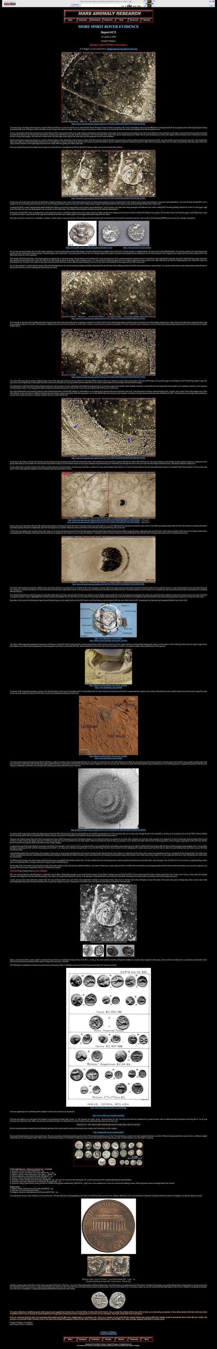 More Spirit Rover Evidence