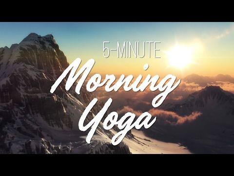 5-Minute Morning Yoga
