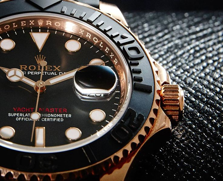 Rolex Yacht Master 116655 in Everose Gold and its' Oysterflex Bracelet