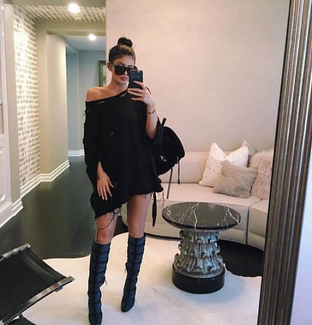 Kylie Jenner slaying as usual