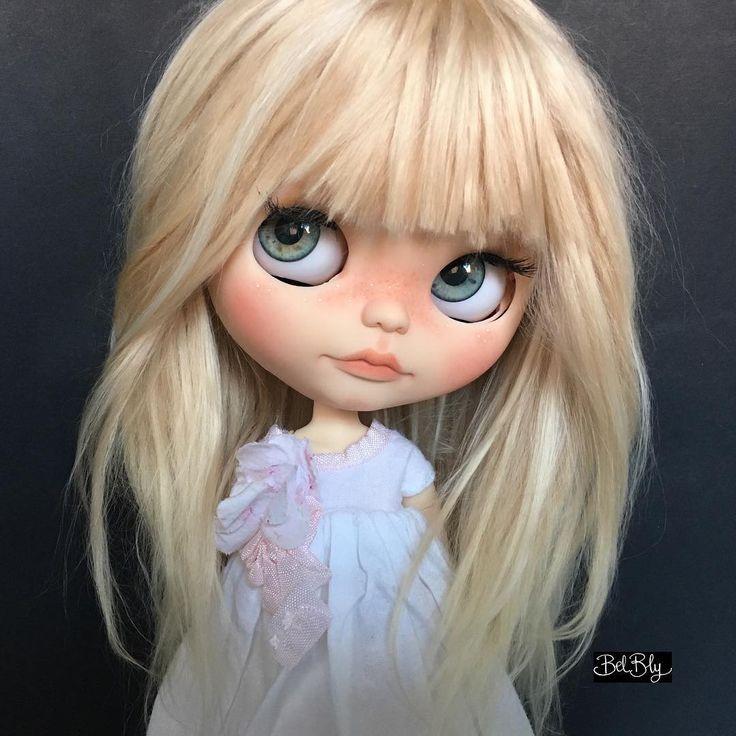 EOWYN my latest Blythe custom available for adoption-ADOPTED#blythetakara #blythecustom #blythe #blythedoll #custom #customdoll #alpaca…
