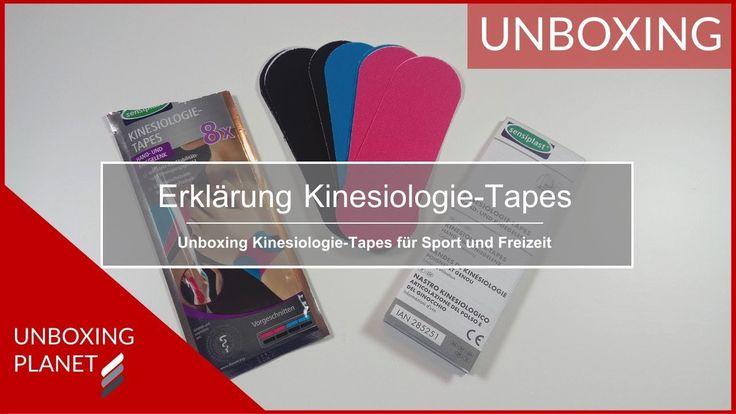 Video mit Erklärung zu Kinesiologie-Tapes für Sport und Freizeit #video #erklärung #kinesiologietapes #sport #freizeit