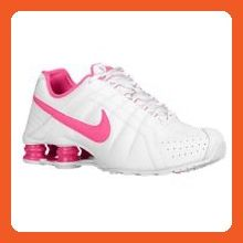 Women's Nike Shox Junior (WHITE/PINK FOIL) (12) - Athletic shoes for women (*Amazon Partner-Link)