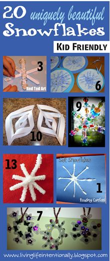 Looks like a fabulous website with some cool crafts for kids!  Definitely want to check out some of these winter crafts!