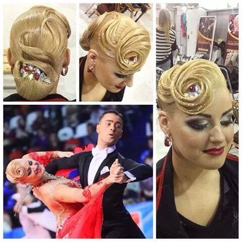 Ballroom Dancesport Hair