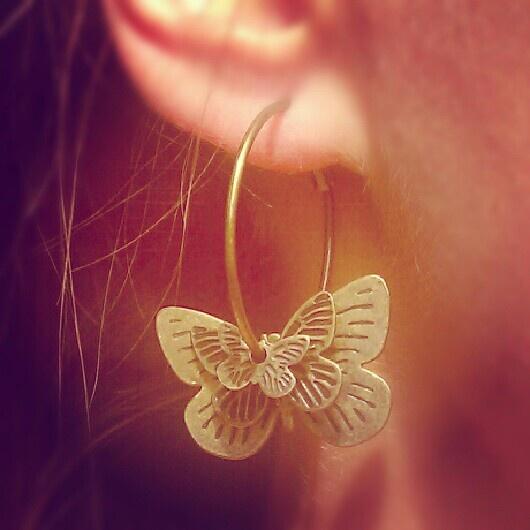 Butterflies :) Glitter.