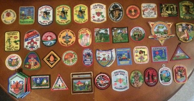 Camp Guajataka patches!!!