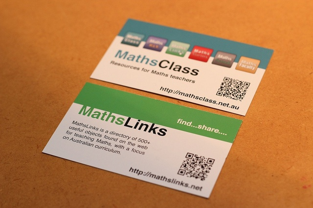 MathsLinks is a directory of 520+ useful objects found on the web for teaching Maths, with a focus on Australian curriculum.