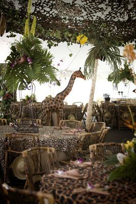 Metro Luxe Events Candice Vallone: A Jungle Safari Party