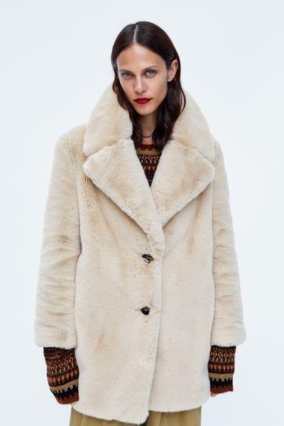 4acba6e4d4 Image 2 of FAUX FUR COAT from Zara