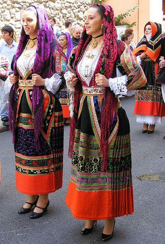Costume di Bitti, Cavalcata Sarda 2008
