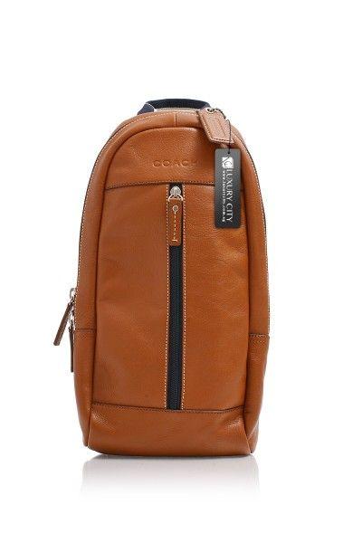 -Coach- Heritage Web Leather Sling Bag #Coach #Handbags ...