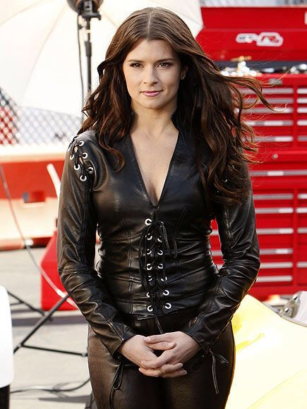 DANICA IS A WINNER, still safe after all those RACES.... and Husband