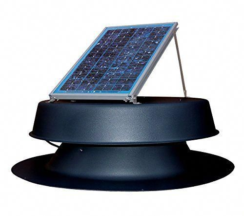 Natural Light Solar Attic Fan Vent Roof Mount 12 Watt Black In 2020 With Images Solar Energy Panels Best Solar Panels Solar Attic Fan