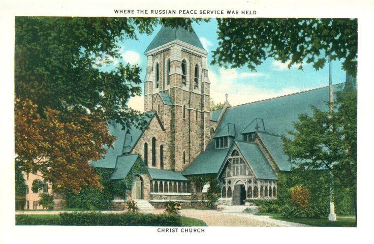 Christ Church, Madison St, Portsmouth NH 1930