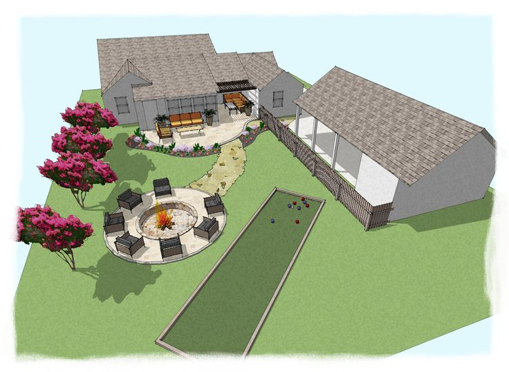 1000 images about renderings on pinterest perspective for Pool design sketchup