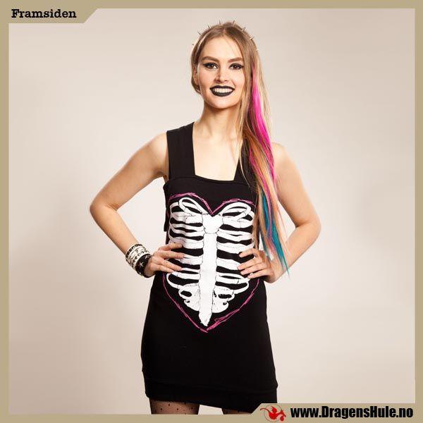 Minikjole: You Heart Ribs fra DragensHule. Om denne nettbutikken: http://nettbutikknytt.no/dragens-hule-no/