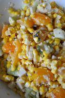 prima variazione sul tema insalata di mais arrosto / variation I on a theme of roasted corn salad