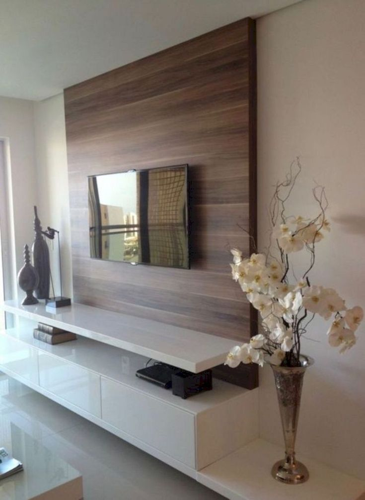 The 25+ best Led tv stand ideas on Pinterest   Floating tv unit ...