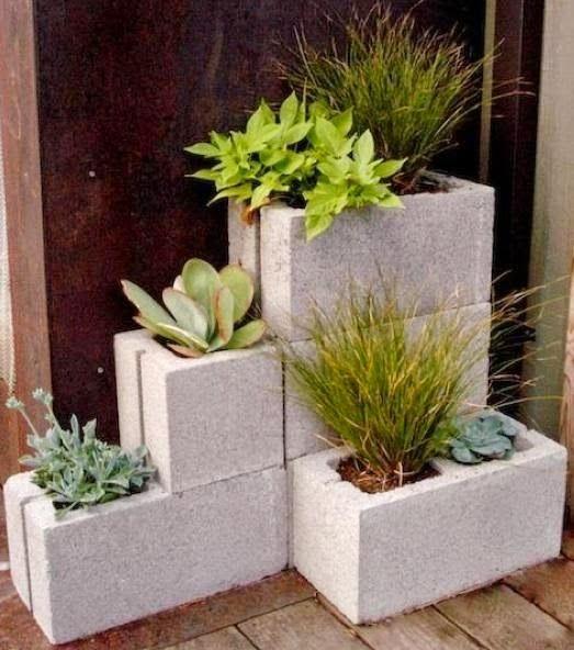 Home Made Modern: Unique Garden Planters You Can Make