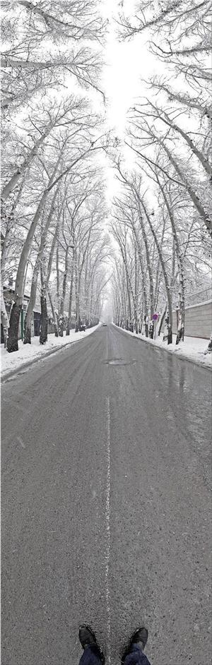 Snow street panorama: Panorama Photography, Vertical Panorama, Snow Street, Street Panorama, Special Pictures, Iranian Photographers, Photography Art Design, Photography Stuff, Captiv Photography