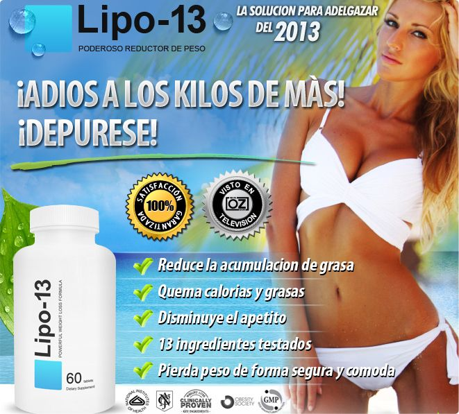 Lipo 13 is one of the best weight loss supplements that I have ever came across. After using the formula, I experienced healthy body and less flabs and bulges around my body. This is a real effective solution that actually works.Loss Supplements, Gewichtsv Supplements, Lipo 13