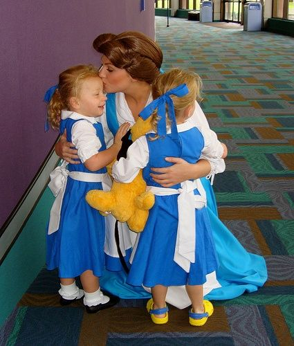 Best Disney Minis Images On Pinterest Disney Face Characters - Mother makes daughters dreams come true incredible disney costumes