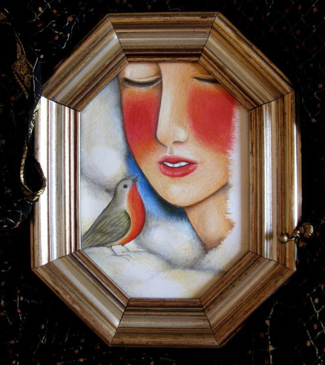 Buy Tell him the truth, Painting by Irene Raspollini on Artfinder. Discover…
