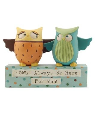 #Owl Always Be Here For You figurine #friendship #gifts