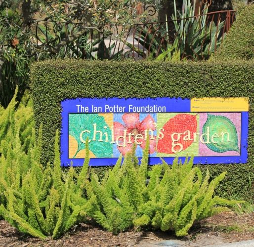 Children's Garden entry