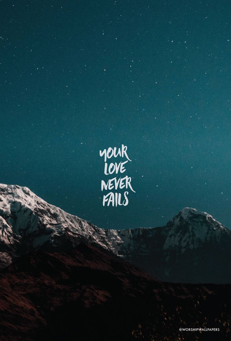"Click images to preview and download or download them on Facebook. Listen to song here > [Worship wallpaper designed from ""Your Love Never Fails"" by Jesus Culture for your phone screen, laptop w…"