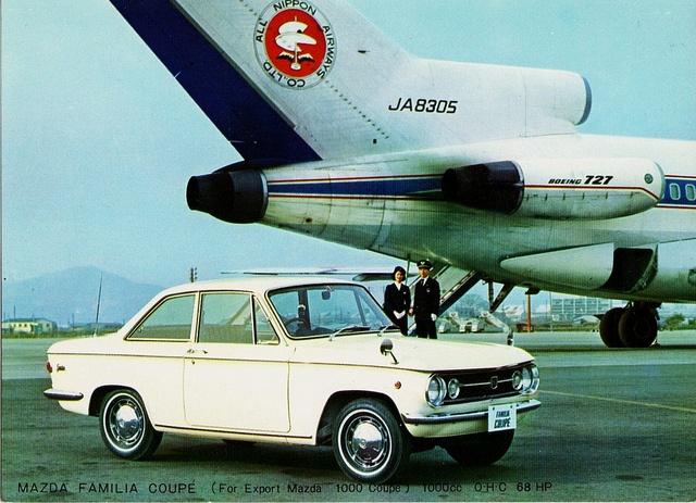 Mazda Familia Coupe, 1965-67