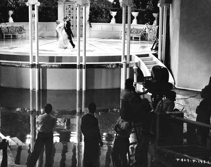 Filming Top Hat (1935)