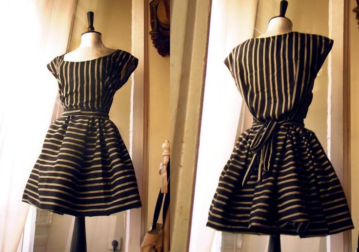 Lovely mid stripe dress!