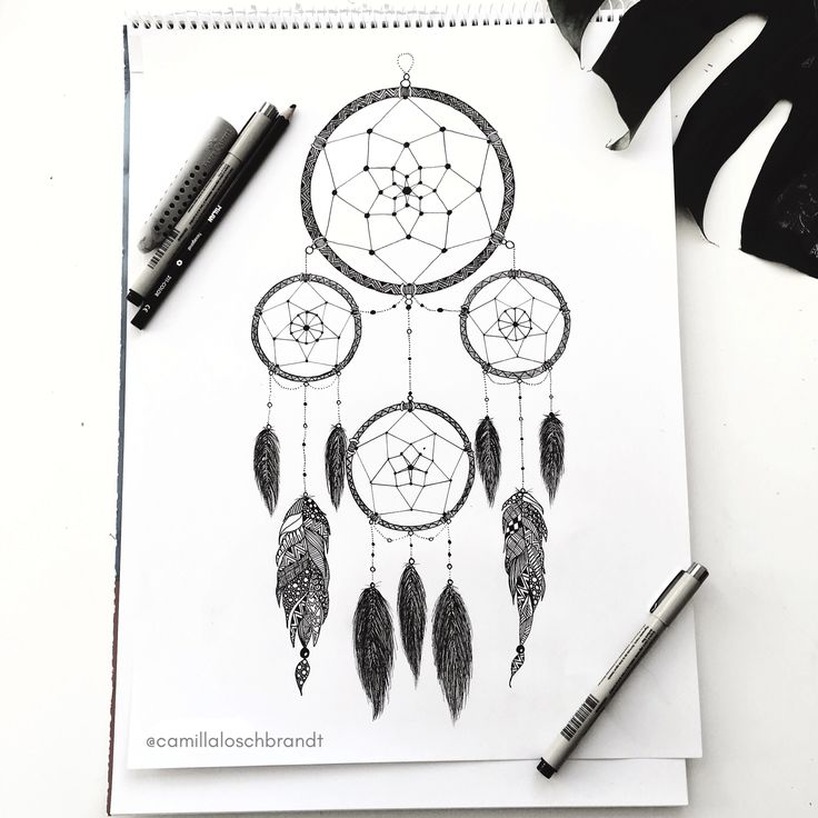 Dreamcather - zentangle