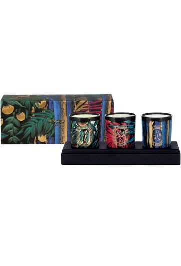 Shop Diptyque  Candle: This year, diptyque has introduced three new candles to light up the holiday season: a limited edition collection dedicated to the olfactory attributes of trees. With Sapin -pine tree -, resin is tinged with a trace of mandarin orange in a new encounter between citrus and woody notes. For Liquidambar, the amber from this tree with red leaves is spiced with cinnamon and nutmeg and enveloped in muscovado sugar. Oliban gives off sweet vapours of incense with soothing…