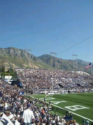 BYU football fans are so enthusiastic