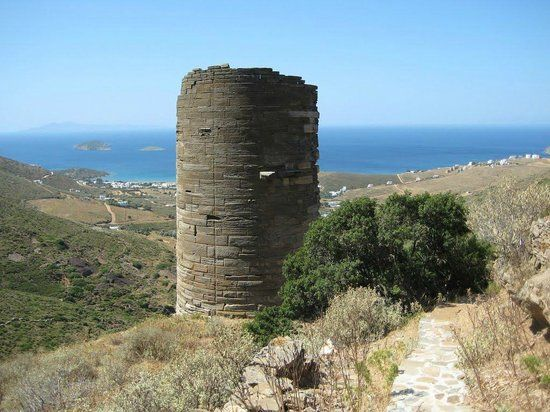 Tower of Agios Petros Andros, Greece