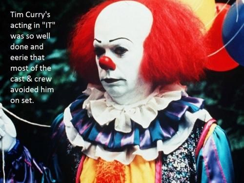Tim Curry - Pennywise - It - NOPE