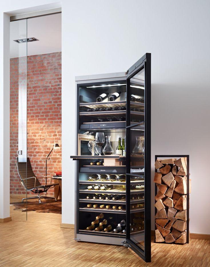 Miele vrijstaande wijnklimaatkast #wijn
