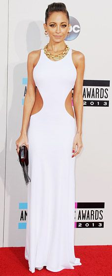 Nicole Ricci at the 2013 American Music Awards