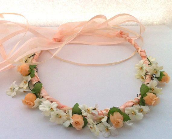 39 Flower Mini Rosebud & Gypso Communion Ribbon by JLOSpecialties