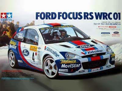Boxart Ford Focus RS WRC 01 24241 Tamiya