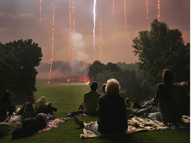 A Sense of Wonder at the Fire Raining Down from the Sky by Madison Guy, via Flickr: Pursuit Of Happy, Bombs, Life, Visual Visual, Photos Captions, Art Dolls Photography, Madison Guys, Fireworks, Friday Inspiration