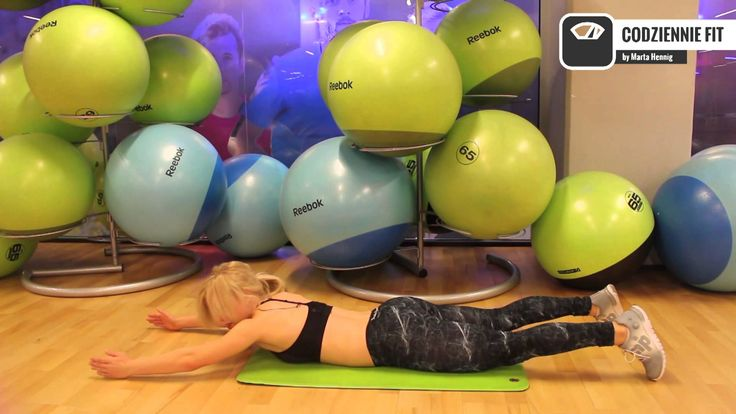 Szybkie ćwiczenie na mocniejsze plecy | Codziennie Fit