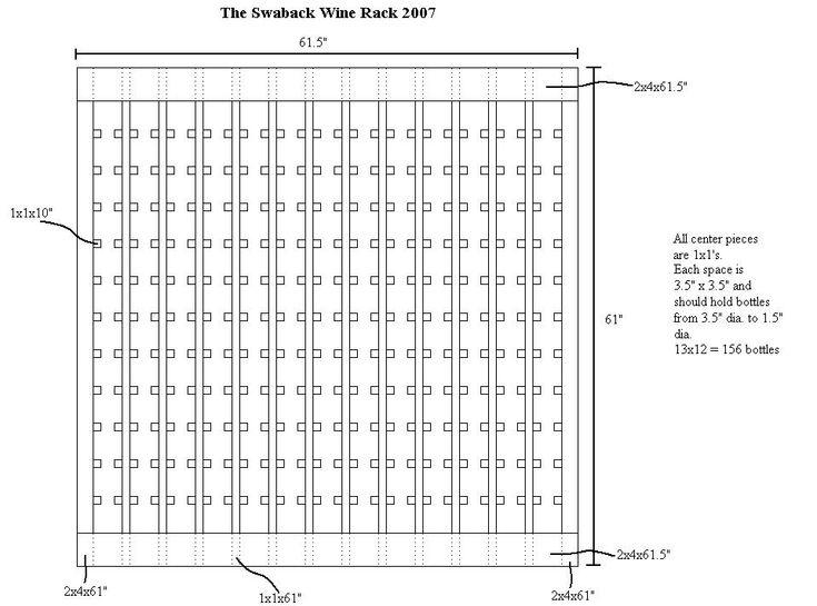 Wine Rack Shelf Dimensions